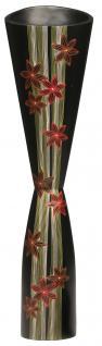 Mangoholzvase Bodenvase Flower H91 cm