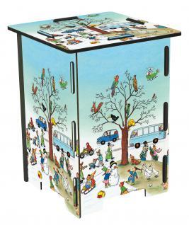 4 Hocker und 1 Tisch für Kinder, Wimmelhocker Set - Vorschau 2