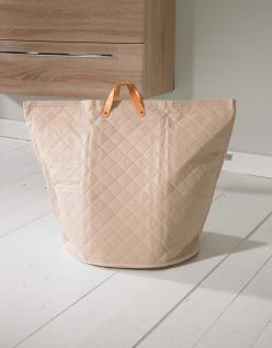 Wäschesammler Wäschetaschen Polyester gesteppt Wäschebeutel Wäschesack Wäschekorb Multifunktionstasche