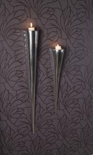 Fackelleuchte aus Aluminium kein und groß Teelichthalter Kerzenhalter Kerzenleuchter Gastgeschenke - Vorschau 3