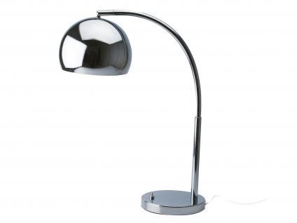 Mini Bow Chrom Leitmotiv Tischleuchte Lampe Bürolampe Schreibtischlampe Tischlampe Leuchte Büroleuchte Schreibtischleuchte Leseleuchte, Nachttischlampe