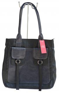 Milla Tasche, Kunstleder schwarz