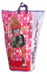 Wäschesammler Wäschetaschen Motiv Hannah Montana Wäschebeutel Wäschesack Wäschekorb Multifunktionstasche