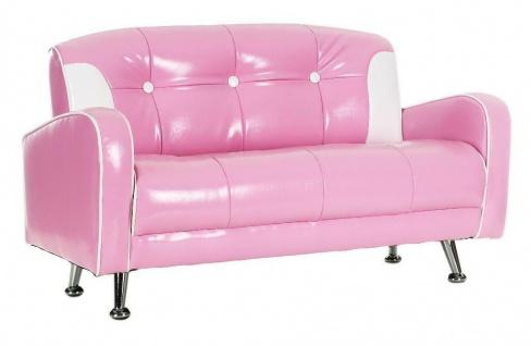 Sofa 2-Sitzer Mustang Pink 140 cm, Einzelstück, Vintage look-Unikat