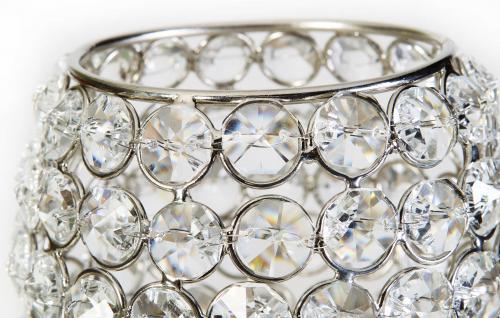 Kristall Kerzenständer Teelichthalter Acryl Teelichthalter Kerzenhalter Kerzenleuchter Tischdeko Gastgeschenke silber Weihnachten Weihnachten Deko Dekoration - Vorschau 2