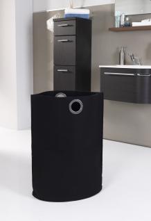 Filztasche SCHWARZ , Wäschesammler Wäschetaschen Wäschesack Wäschebox Multifunktionstasche