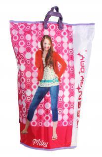 Wäschesammler Wäschetaschen Motiv Hannah Montana Wäschebeutel Wäschesack Wäschekorb Multifunktionstasche - Vorschau 2