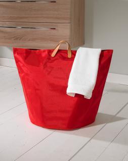 Wäschesammler Wäschetaschen Nylon rot breit Wäschebeutel Wäschesack Wäschekorb Multifunktionstasche - Vorschau 2