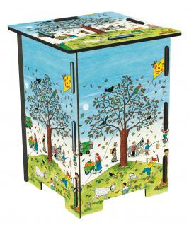 4 Hocker und 1 Tisch für Kinder, Wimmelhocker Set - Vorschau 5