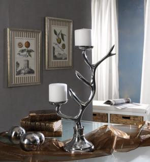 """Aluminium Kerzenständer - Schmuckbaum """" Tree"""" Tischdeko Teelichthalter Kerzenhalter Kerzenleuchter Tischdeko Gastgeschenke Weihnachten Weihnachten Deko Dekoration Weihnachtsdeko - Vorschau 3"""