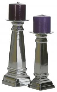 Aluminium Kerzenständer Block L Teelichthalter Kerzenhalter Kerzenleuchter Tischdeko Gastgeschenke Weihnachten Weihnachten Deko Dekoration Weihnachtsdeko - Vorschau 2