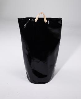 Wäschesammler Wäschetaschen Lack schwarz Wäschebeutel Wäschesack Wäschekorb Multifunktionstasche - Vorschau 2