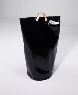 Wäschesammler Wäschetaschen Lack schwarz Wäschebeutel Wäschesack Wäschekorb Multifunktionstasche