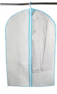 Kleidersack 5er SET Schrankeinhänger Kleideraufbewahrung Kleiderhülle Kleiderschutz Schutzhülle