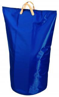 Wäschesammler Wäschetaschen Nylon blau Wäschebeutel Wäschesack Wäschekorb Multifunktionstasche