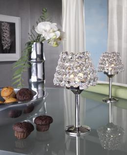 Kristall Kerzenständer Teelichthalter Noelle Teelichthalter Kerzenhalter Kerzenleuchter Tischdeko Gastgeschenke silber Weihnachten Weihnachten Deko Dekoration
