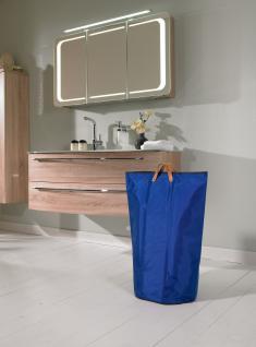 Wäschesammler Wäschetaschen Nylon blau Wäschebeutel Wäschesack Wäschekorb Multifunktionstasche - Vorschau 3