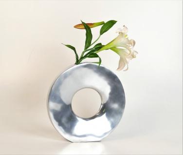 Aluminium Vase Handpoliert Rund M Dekoration Deko Blumenvase Tischvase Artra Silber Dekovase Weihnachten Weihnachten Deko Dekoration Weihnachtsdeko