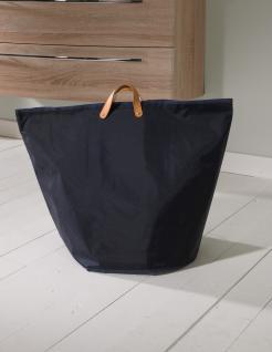 Wäschesammler Wäschetaschen Nylon Dunkelblau breit Wäschebeutel Wäschesack Wäschekorb Multifunktionstasche