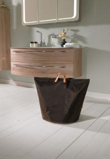 Wäschesammler Wäschetaschen Nylon braun breit Wäschebeutel Wäschesack Wäschekorb Multifunktionstasche - Vorschau 3