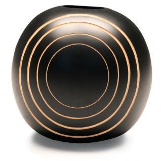 Mango Holz Vase Motiv Saturn