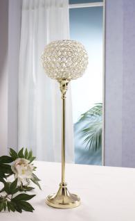Kristall Kerzenständer Marie XL in GOLD Teelichthalter Kerzenhalter Kerzenleuchter Tischdeko Gastgeschenke