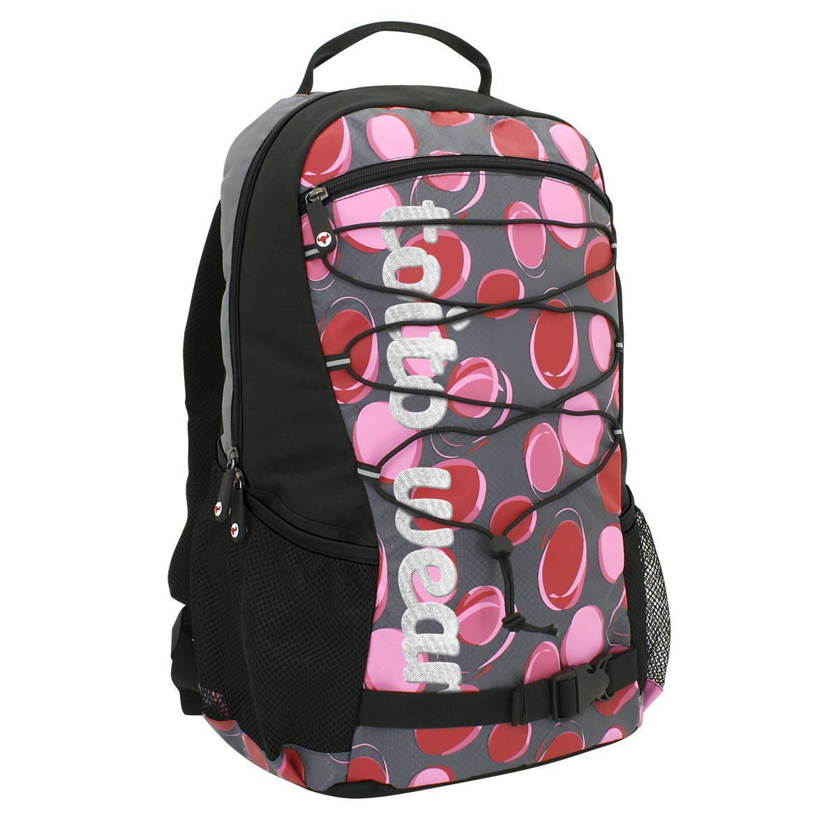 43a414280ddc2 Rucksack Dotty Schulrucksack Sportrucksack Freizeitrucksack  Multifunktionsrucksack Schulranzen Damen Mädchen Schüler schwarz pink  Rucksack 1 ...