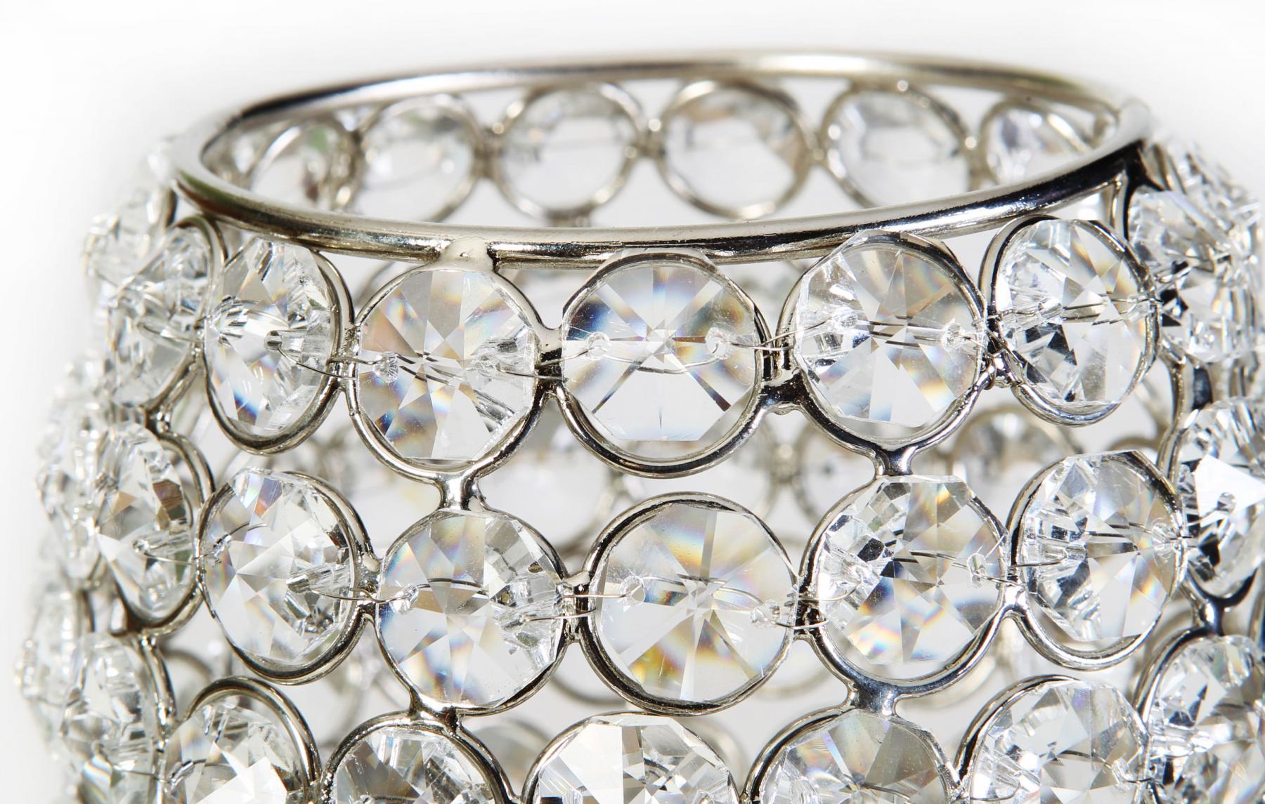 Kristall Deko kristall kerzenständer teelichthalter noelle teelichthalter