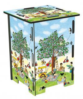 4 Hocker und 1 Tisch für Kinder, Wimmelhocker Set - Vorschau 4