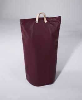 Wäschesammler Bad Wäschetaschen Kunstleder bordeaux Wäschebeutel Wäschesack Wäschekorb Multifunktionstasche - Vorschau