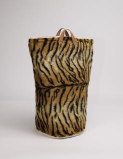 Wäschesammler Bad Wäschetaschen Tiger in Fellimitat Wäschebeutel Wäschesack Wäschekorb Multifunktionstasche