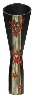 Mangoholzvase Bodenvase Flower H60 cm