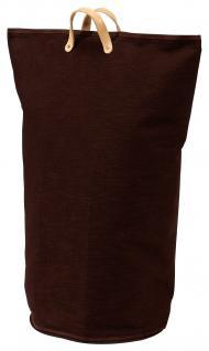 Wäschesammler Wäschetaschen Baumwolle braun Wäschebeutel Wäschesack Wäschekorb Multifunktionstasche