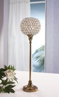 Kristall Kerzenständer Marie XL in KUPFER Teelichthalter Kerzenhalter Kerzenleuchter Tischdeko Gastgeschenke