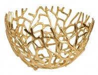 """Aluminium Schale """"Elif"""" in Gold Tischdekoration Hochzeitdekoration Artra Dekoschüssel Deko Dekoschale Dekoration Geschenk"""