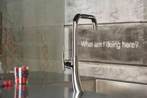 Küchenarmatur, Küchenmischer, Spültischarmatur, Spülenmischer, Wasserhahn Küche, Spültischmischer, Futuristisches Design, Top Qualität direkt vom Hersteller.