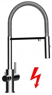 NIEDERDRUCK 3 wege Küchenmischer Wasserhahn Armatur für Filtersysteme - 2 strahl Handbrause