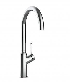 Design Küchenarmatur chrom Wasserhahn mit 360° schwenkbarem Auslauf - Vorschau 3