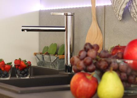 NIEDERDRUCK Küchenarmatur, Küchenmischer, Spültischarmatur, Spülenmischer, Wasserhahn Küche, Spültischmischer, Design, Top Qualität direkt vom Hersteller. - Vorschau 4