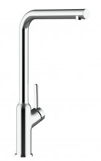 Design Küchenarmatur chrom Wasserhahn mit 360° schwenkbarem Auslauf - Vorschau 5