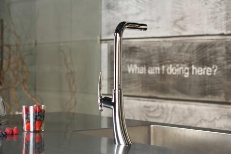 Küchenarmatur, Küchenmischer, Spültischarmatur, Spülenmischer, Wasserhahn Küche, Spültischmischer, Futuristisches Design, Top Qualität direkt vom Hersteller. - Vorschau 2