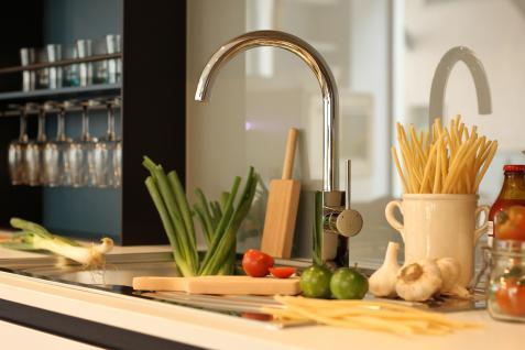 Küchenarmatur, Küchenmischer, Spültischarmatur, Spülenmischer, Wasserhahn Küche, Spültischmischer, RETRO Quardatisches Design, Top Qualität direkt vom Hersteller. - Vorschau 4