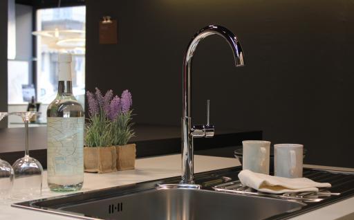 Küchenarmatur, Küchenmischer, Spültischarmatur, Spülenmischer, Wasserhahn Küche, Spültischmischer, Minimalistisches Design, Top Qualität direkt vom Hersteller. - Vorschau 4
