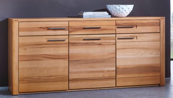 WOODTREE Sideboard Anrichte Regal Kommode Schrank