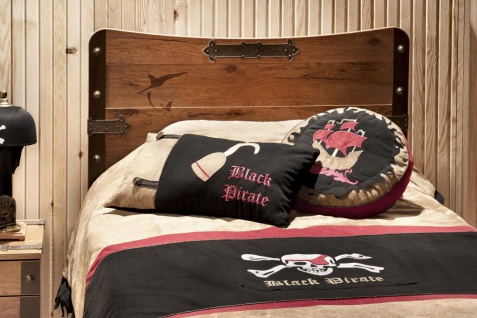 Cilek PIRATE - Tagesdecke Bettbezug 100% Polyester 160x210 cm