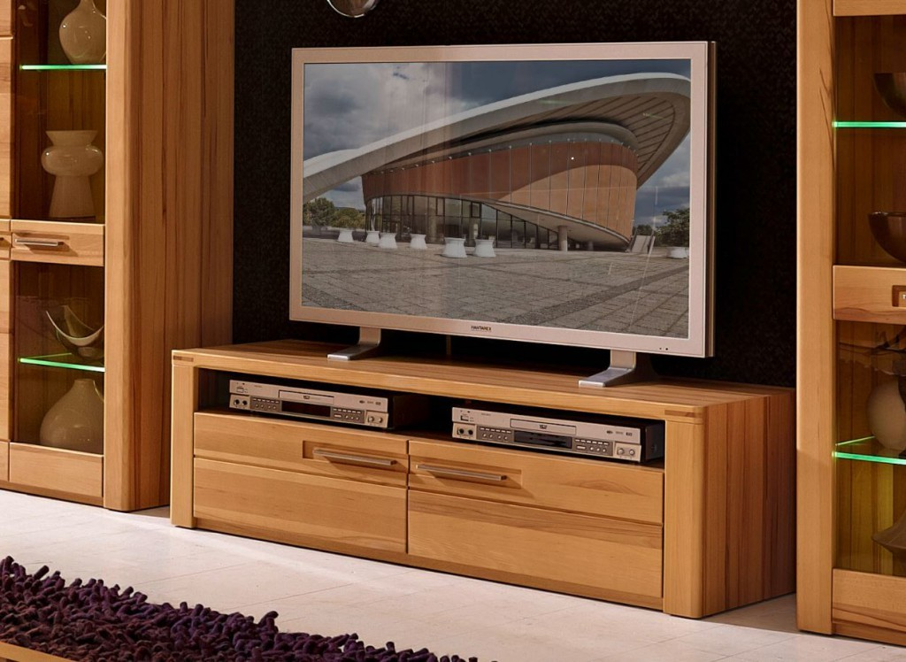 kernbuche tv mobel WOODTREE TV Möbel Lowboard Sideboard Anrichte Kernbuche 1 ...