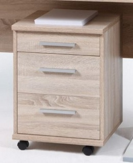 OFFICE LINE Rollcontainer Container Bürocontainer Homeoffice Eiche Sonoma