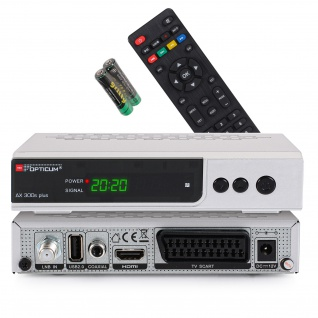 Opticum RED HD AX300s Plus PVR Satellitenreceiver PVR ready, 1080p, HDMI, USB, S/PDIF, Scart