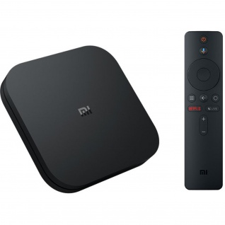 Xiaomi Mi Box S 4K Ultra HD Media Player mit Google Assistent Fernbedienung, Bluetooth , HDMI 4K HDR