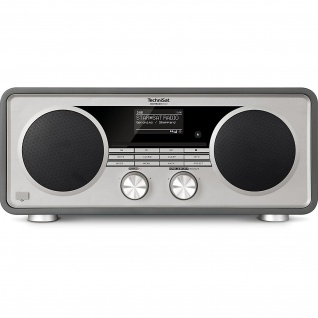 TechniSat DIGITRADIO 600 Internetradio (Spotify, WLAN, LAN, DAB+, DAB, UKW, CD-Player, Bluetooth)